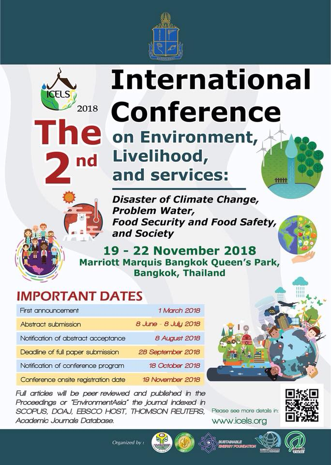 The 2nd International Conference on Environment, Livelihood